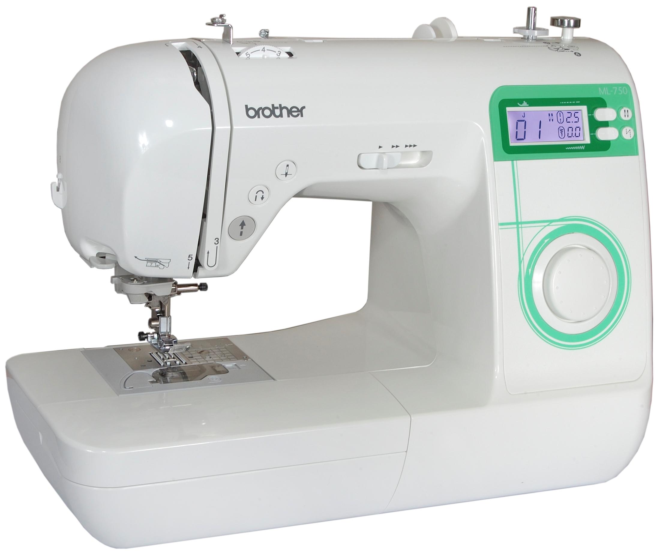 Компьютеризированная швейная машина BROTHER ML-750